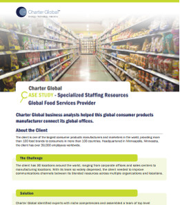 Global Food Services Provider