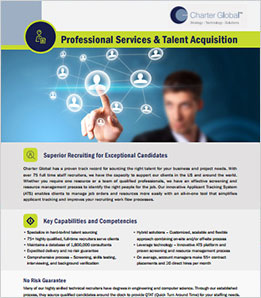 Professional Services & Talent Acquisition