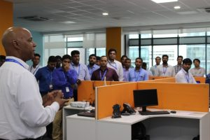 Ken Reaves addresses Pune team