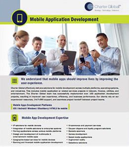 Charter Global Mobile Application Development